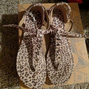 Mossimo cheetah sandals